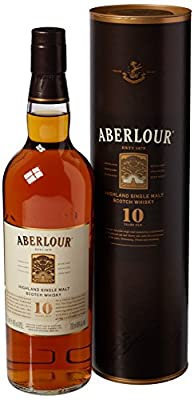 Aberlour 10 Year Old Double Cask Matured Single Scotch Malt Whisky 70 cl