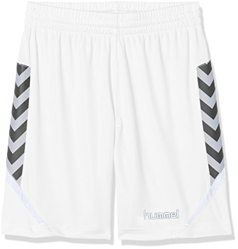 hummel Kinder AUTH. Charge Poly Shorts Weiß, 140-152