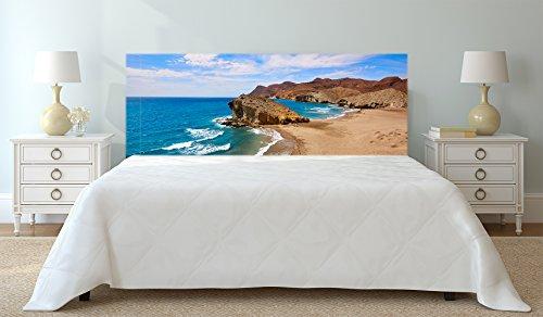 Cabecero Cama Cartón Ecológico Almería Playa Monsul