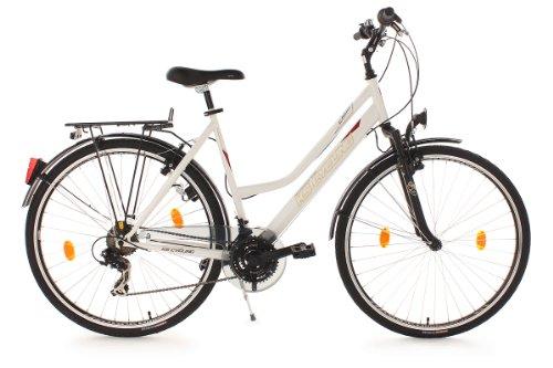 Trekkingrad Damen 28'' CLX weiß RH 53 cm Flachlenker KS Cycling