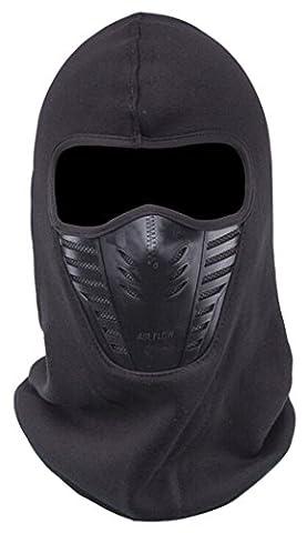 Coofit One Eye Loch Frisiere Maske Sport Balaclava Radfahren Ski Masken