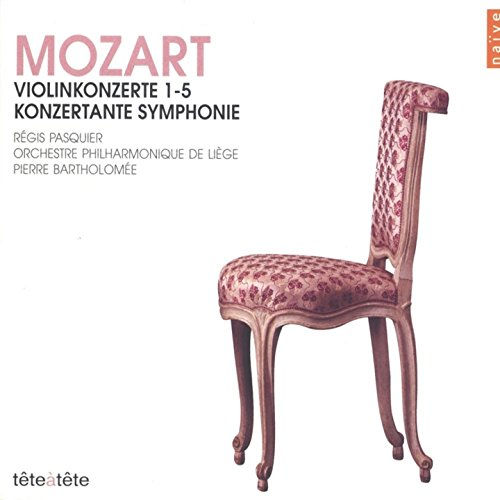 Mozart: Violinkonzerte 1-5 (Ko...