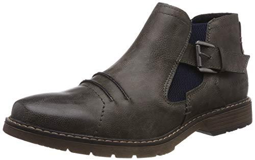 TOM TAILOR Herren 5881902 Klassische Stiefel Grau (Grey 00011) 44 EU