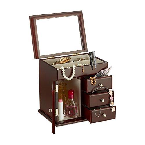 Relaxdays–joyero-joyero-de-madera-con-espejo-para-cadenas-joyas-caja-HBT-225-x-22-x-17-cm-varios-colores