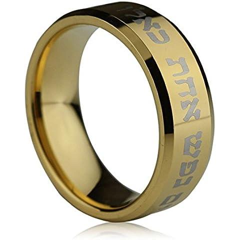 Andonger L'oro tungsteno 18K ha placcato l'anello costume film di Schindler List Schindler Jewelry 9