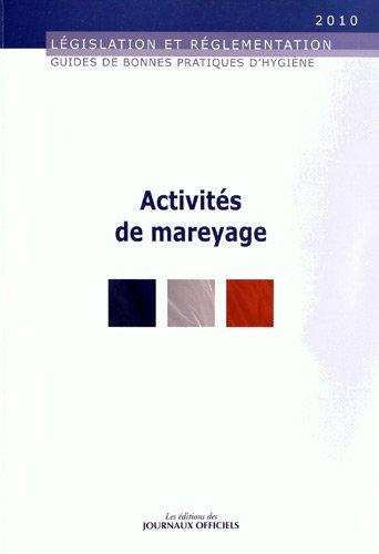 Activits de mareyage - Guide des bonnes pratiques d'hygine - Brochure 5942