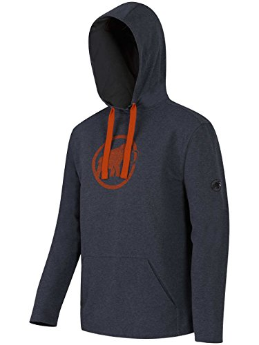 Mammut Herren Sweatshirt Logo ML Hoodied Anthrazit