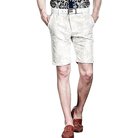 FANZHUAN - Short - Homme - blanc - W28