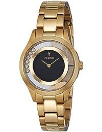 Fjord Analog Black Dial Women's Watch-FJ-6021-33