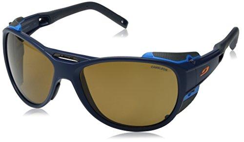 Julbo Explorer 2.0Sonnenbrille Herren, Herren, Explorer 2.0, Bleu Foncé Mat/Bleu Cyan