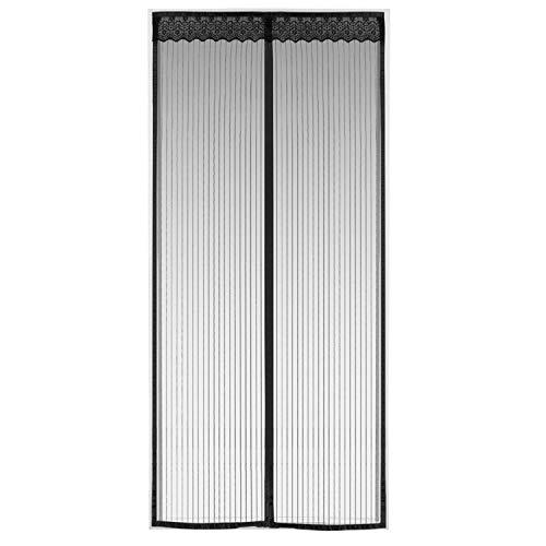 Tabiger zanzariera porta finestra magnetica agli insetti anti-zanzare,26 calamite tenda zanzariera magnetica per porte con velcro adesivo per porte di soggiorno camera da letto casa e d'ingresso