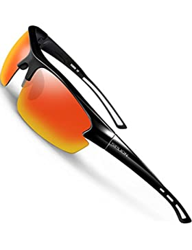 [Sponsorizzato]SIPLION Unisex Superlight Occhiali Da Sole Polarizzati Per Sportivi Golf Bicicletta Guida Pesca
