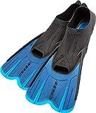 Cressi Agua Short -  Unisex Erwachsene Premium Schwimmflossen,blau (Blau/Hellblau), 39/40