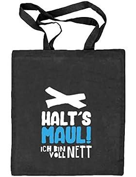 Shirtstreet24, Voll Nett, Natur Stoffbeutel Jute Tasche (ONE SIZE)