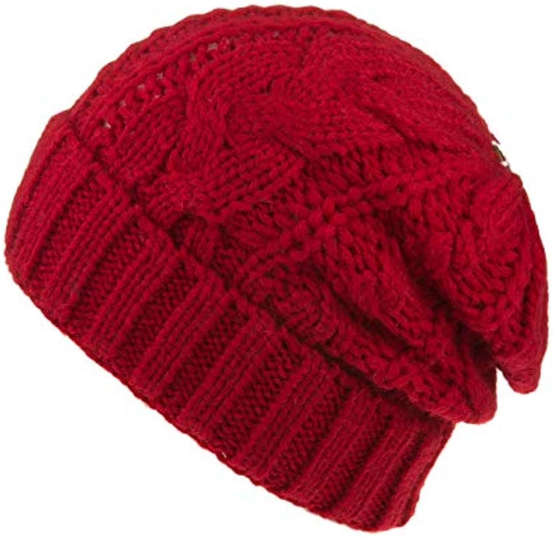 Knitted Hat Home Berretto Invernale da Donna Invernale in Lana Lavorato a  Maglia f1cdc7988fe4
