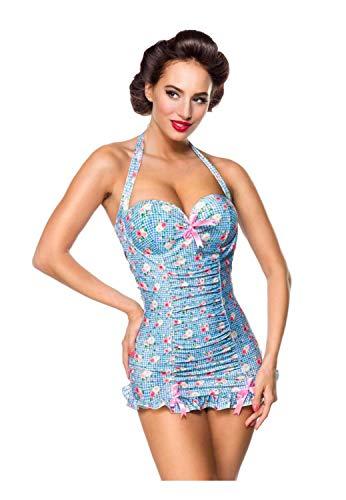 Belsira Damen Vintage Badeanzug XL