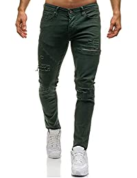 d8c3fd3e Amazon.co.uk: Green - Jeans / Men: Clothing