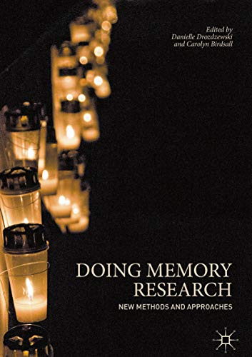 Doing Memory Research: New Methods and Approaches (English Edition)