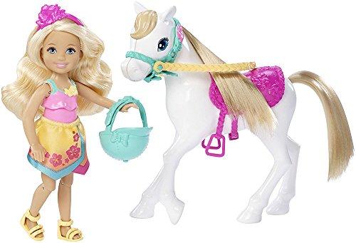 Barbie Mattel DLY34 große Hundesuche, Chelsea und Pony