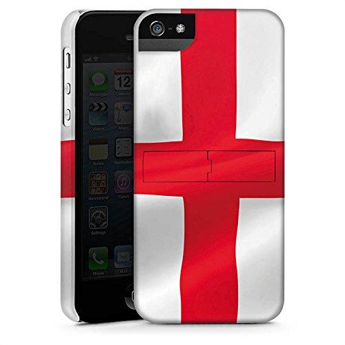 Apple iPhone 4 Housse Étui Silicone Coque Protection Angleterre Drapeau Drapeau CasStandup blanc
