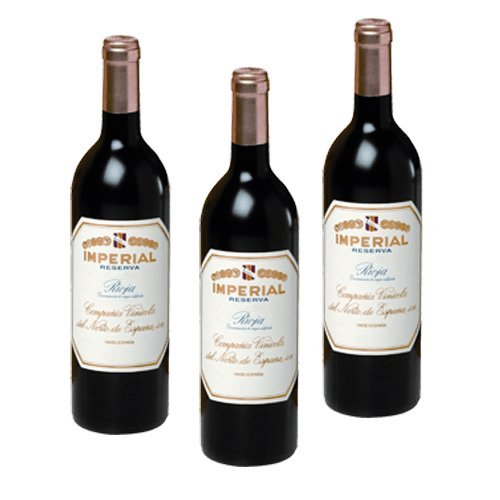 Imperial reserva - Vino Tinto- 3 Botellas