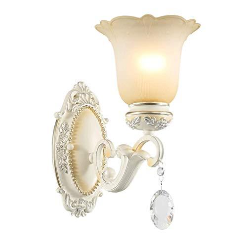 Applique Murale Chambre Lampe de Chevet Salon Murale Applique Murale Cristal Allée Escalier Lampe (Couleur : A)