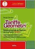 Tariffe geometri. Con CD-ROM