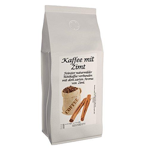 Aromakaffee - Aromatisierter Kaffee - Zimt 200g (gemahlen) - Spitzenkaffee - Schonend Und Frisch In Eigener Rösterei Geröstet