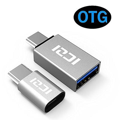 ICZI USB C Adapter auf Micro USB und USB C