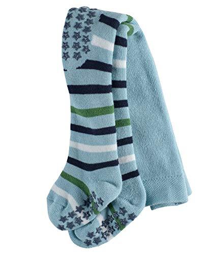 FALKE Multi Stripe Baby Strumpfhose blue bell (6470) 80-92 Vollplüsch-Strumpfhose aus hautfreundlicher Baumwolle
