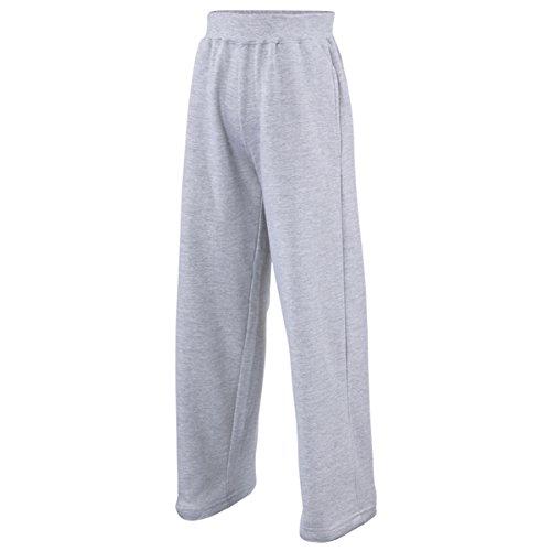 Kids sweatpants Heather Grey 7-8 years Pantalone Tuta Bambino
