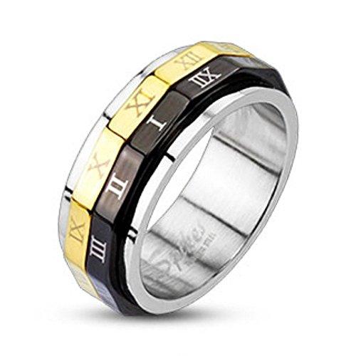 Spikes Damen Ip Dual Spinner Ring 5