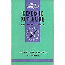 L'Énergie nucléaire (Que sais-je)