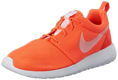 Nike Women Roshe One Training Running Shoes, Orange (Total Crimson/White), 6.5 UK...