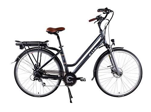 "CILO Lago Comfort E-Bike Citybike Elektrofahrrad Pedelec Damen 28\"" 46 cm Anthrazit Modell 2019"