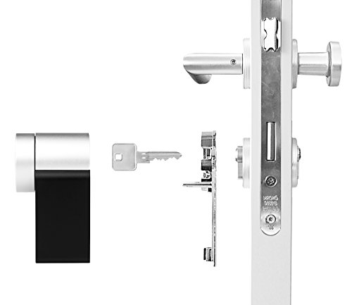 Nuki Combo (Smart Lock und Bridge) – Elektronisches Türschloss – Automatischer Türöffner mit Bluetooth, WLAN, mit Amazon Alexa - 6