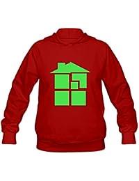HEJX Women's Homestuck Logo Hoodies Sweatshirt Black