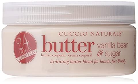 Cuccio Body Butter Blend, Vanilla Bean and Sugar, 8 Ounce