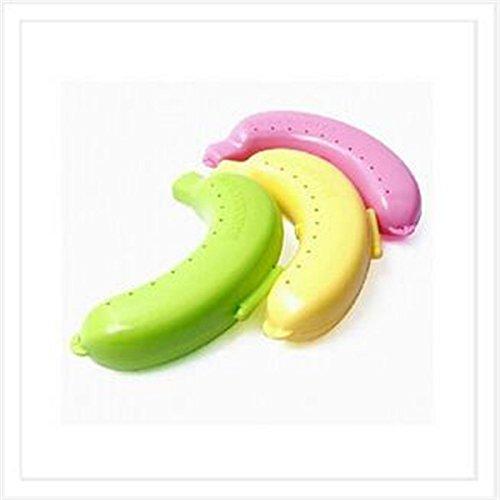 3pcs Caja Protección Plátano Caja Almacenamiento