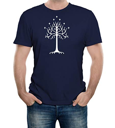 Bullshirt\'s Men\'s White Tree of Gondor T-Shirt.