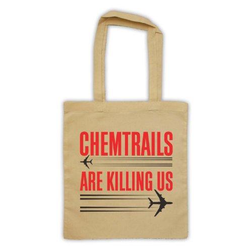 Chemtrails sono Killing Us Protest Tote Bag natur