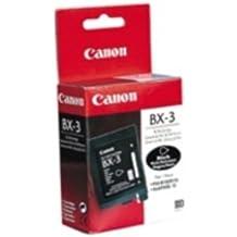 Canon BX3 Black fax cartridge - Cartucho de tinta para impresoras (Negro, Inyección de tinta)