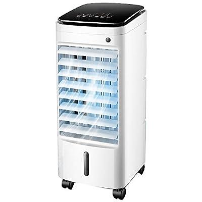 Small Portable Air Conditioner Fan, Mobile Air-conditioning Fan Water-cooled Air Conditioner With Dehumidifier Evaporative Coolers Home Dormitory