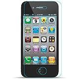 Zooky® Prime Protecteur d'écran de verre trempé pour Apple iPhone 4 / 4S cristal clair