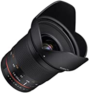 Rokinon - RK20M-E 20mm f/1.8 AS ED UMC Wide Angle Lens for Sony E-Mount