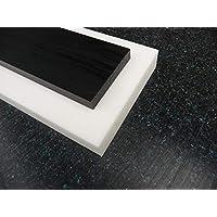 Platte aus POM, 500 x 500 x 2 mm schwarz Zuschnitt Delrin