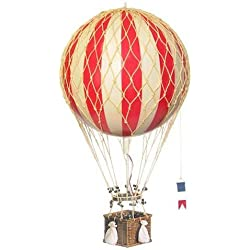 Authentic Models - Dekoballon - Ballon Rot - 8 cm