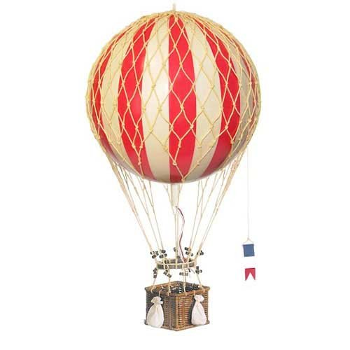 Authentic Models Dekoballon - Ballon Rot - 8 cm (Korb Erde)