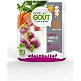 good goût Navets carottes veau, dès 12 mois ( Prix unitaire ) - Envoi Rapide Et Soignée