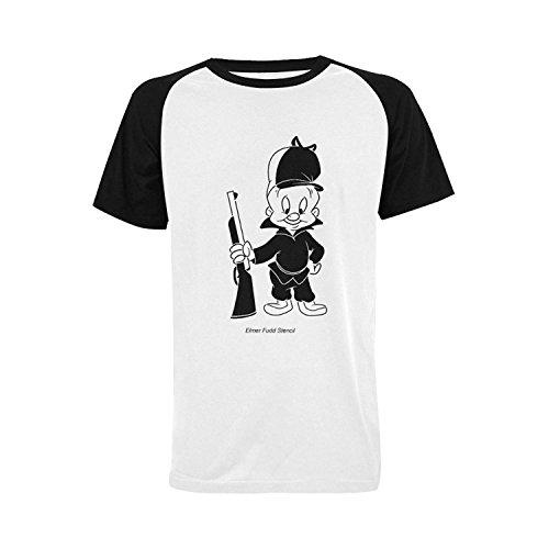 mens-elmer-fudd-raglan-short-sleeve-t-shirt